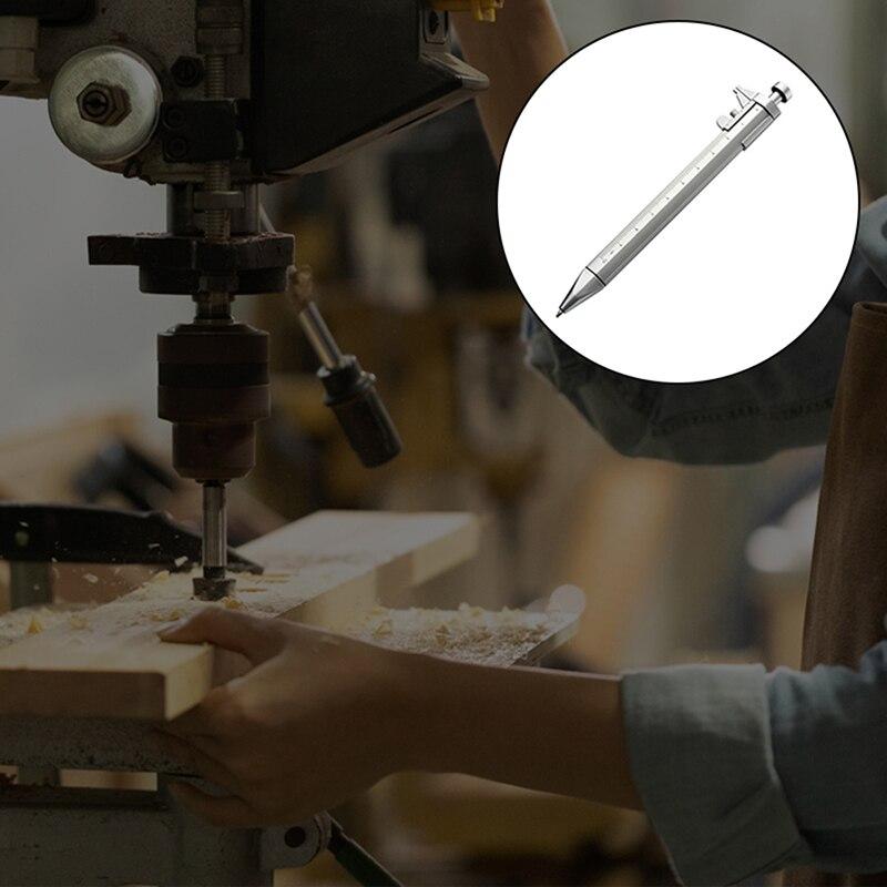 Многофункциональный гель чернила ручка нониус штангенциркуль ролик шарик ручка канцелярские товары шариковая ручка шариковая ручка 0,5 мм падение доставка
