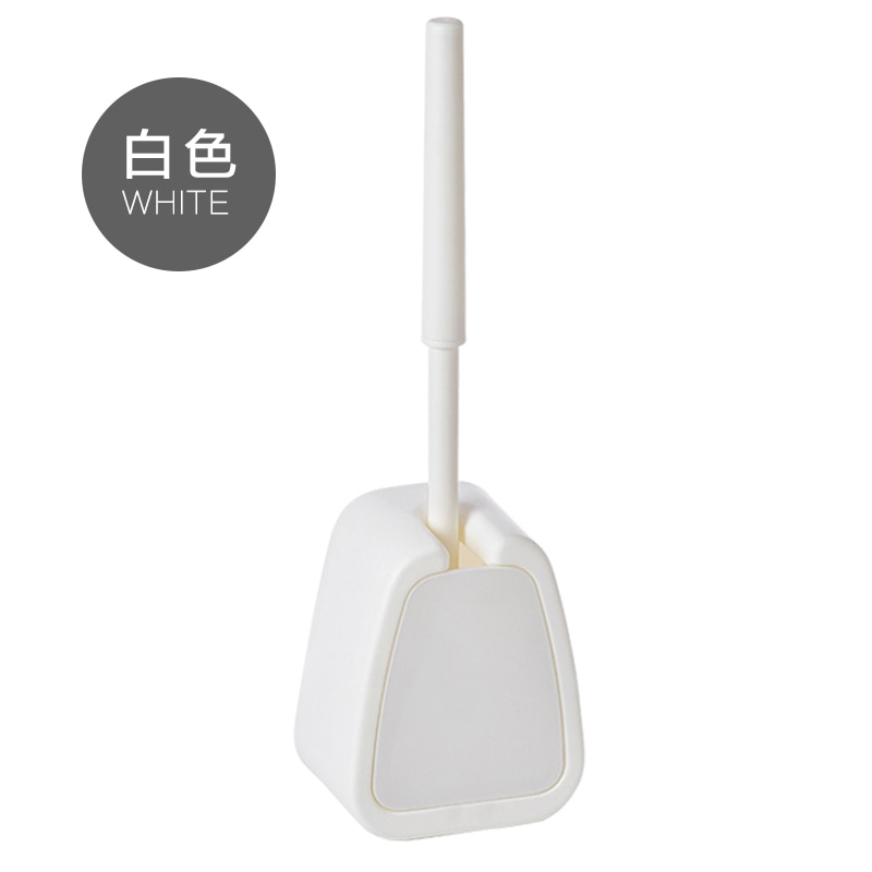 Portable Creative Toilet Brush Set Durable Convenient White Wall Mounted Toilet Brush Szczotka Do Wc Bathroom Products DK50TB enlarge