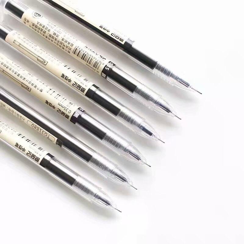 Японская шариковая ручка 0,35 мм, школьная Ручка, Офисная ручка, Студенческая ручка, ручка для письменного обследования, канцелярские принадл...
