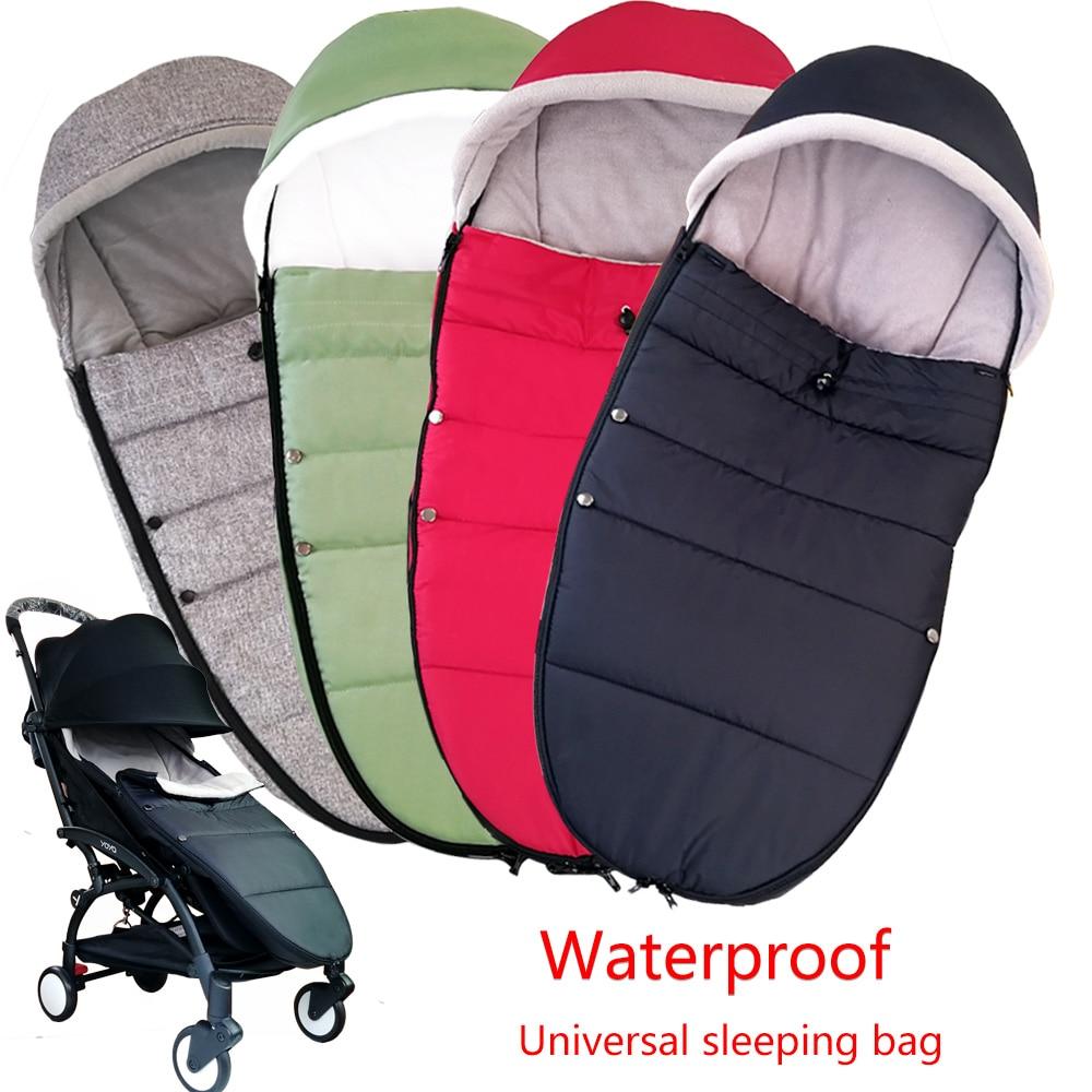 العالمي عربة طفل كيس النوم يندبروف الشتاء الجوارب ل يويا يويو عربة الدافئة Footmuff غطاء عربة طفل الملحقات