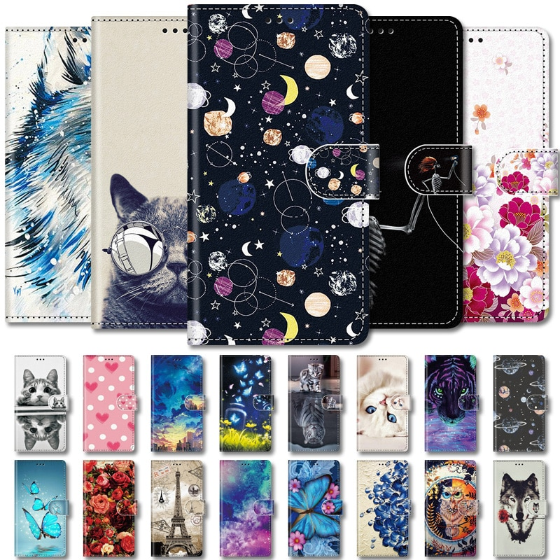 Etui Leather Wallet Flip Stand Case For Huawei Nova 5T 2S 3 3i 4 Lite 5 5T 6 7 SE 7i 7 Pro Funda Back Cover Nova5t Card Slots