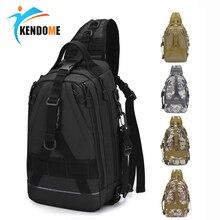 Tactical Hiking Shoulder Bag Multifunctional Outdoor Messenger Chest Bag Fishing Lura Bag Military Camping Hunting Rucksack