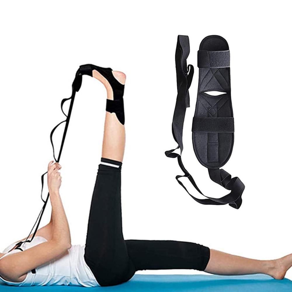 Эластичный ремень для занятий йогой, эластичный растягивающийся ремень для балериной поддержки, тренировочный растягивающийся ремень для ...