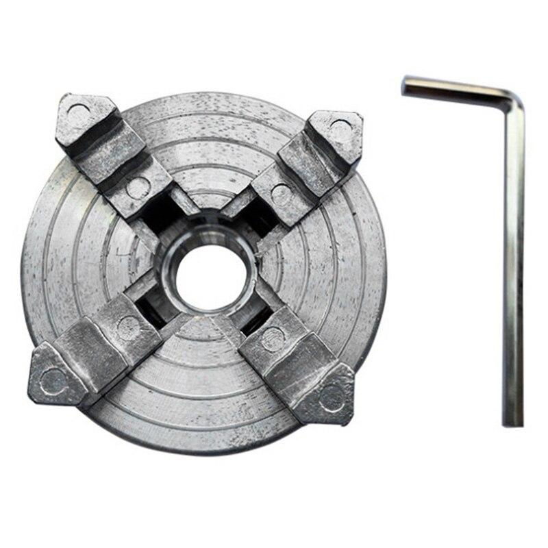 Beau-quatro 4 mandril z011a da maxila para o mini torno m12x1mm do metal rosqueado volta 1.8 accessory 56mm/12 65 65mm mini acessório do torno do aro