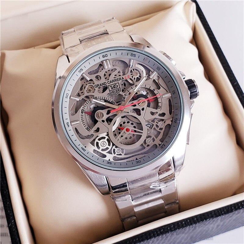 quartz Mens Watches Quartz Watch Stainless Steel Strap men's wristwatch classic business dress men's