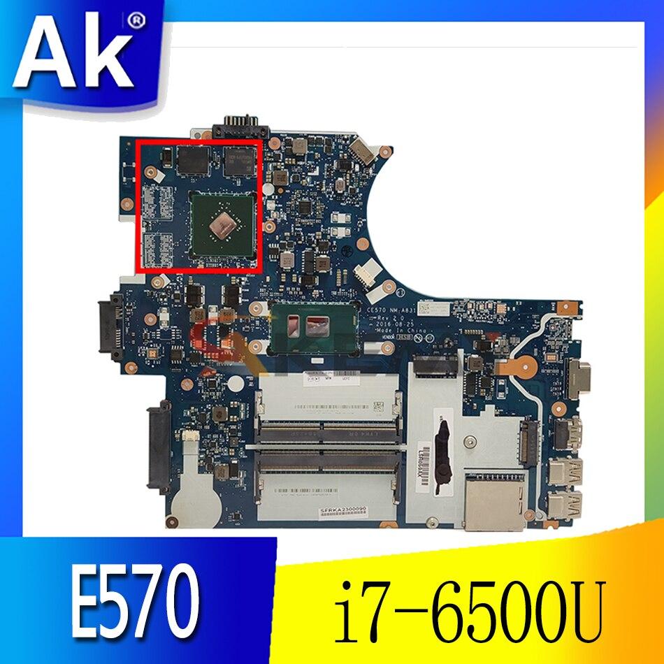 ل Thinkpad E570 E570C الكمبيوتر المحمول بطاقة الرسومات المستقلة اللوحة الأم. i7-6500U FRU 01YR743 01HY310 01YR744 01HY311 01YR742