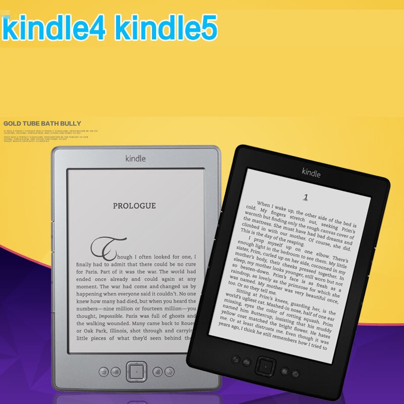 Cheap Kindle 4 / 5 e-book with gift e-ink Display 6 inch Ebook Reader Electronic e book Ereader 2GB