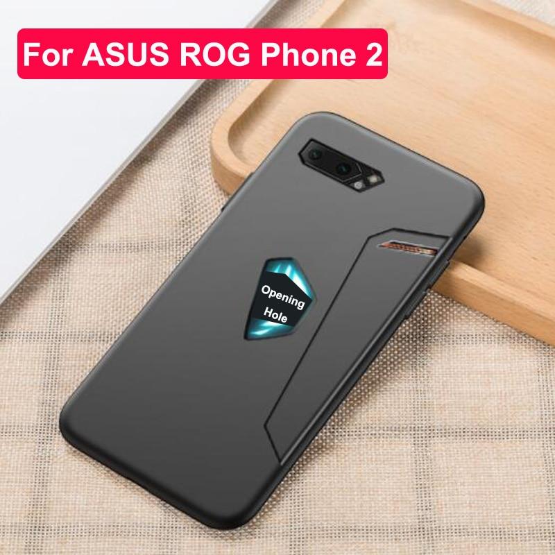 Para Asus ROG Phone 2 funda ultrafina de silicona suave protectora AsusROG teléfono 2 II fundas delgadas para Asus ZS660KL 2019