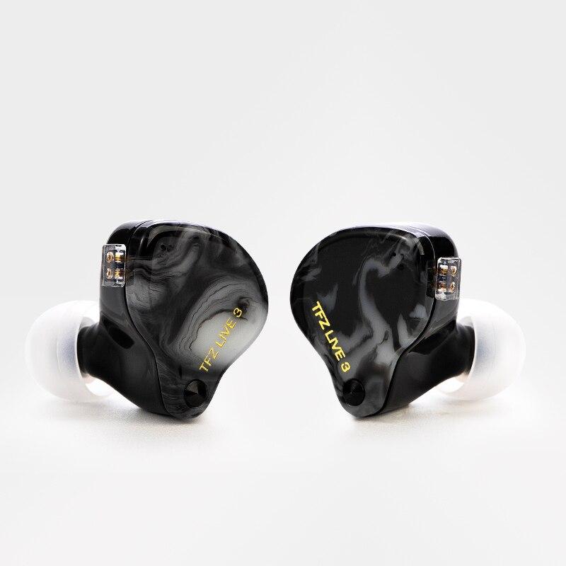 TFZ LIVE 3 Hifi In Ear Earphone 2 Magnetic+1.0Tesla's Unit HIFI Bass наушники In Ear Monitor Sport Earphone With Upgraded Cable enlarge