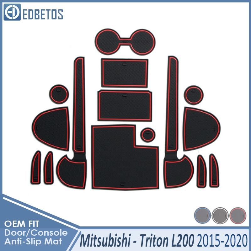 Almohadilla antisuciedad para Mitsubishi L200 Triton Strada Barbarian Fiat Fullback RAM 1200 accesorios ranura para puerta