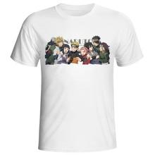 2019 Naruto Boruto t-shirt hommes femmes t-shirts uchiha itachi uzumaki sasuke kakashi gaara japon anime fuuny t-shirts haut t-shirt hauts