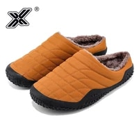 new winter home men slippers unisex indoor shoes mens fur slides with plush warm bedroom house slipper shoes male plus size 47