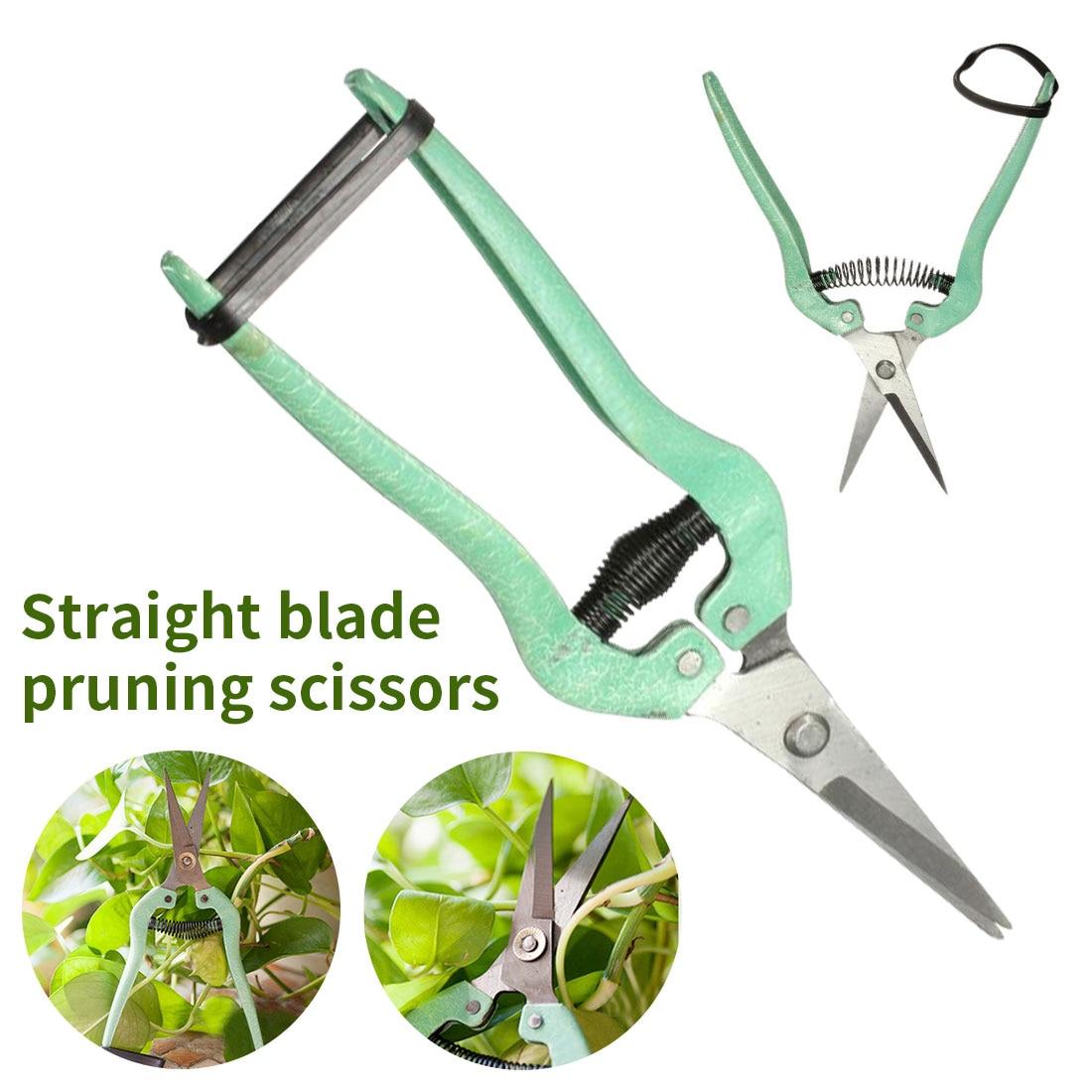 Многофункциональные садовые инструменты, ножницы для обрезки фруктов, ножницы для отделки травы, бытовые горшечные ветки, секатор из нержа...