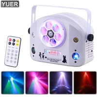 rgbw 4in1 bee eyes strobe laser effect light dmx512 with remote control stage projector for bar dance floor party disco dj