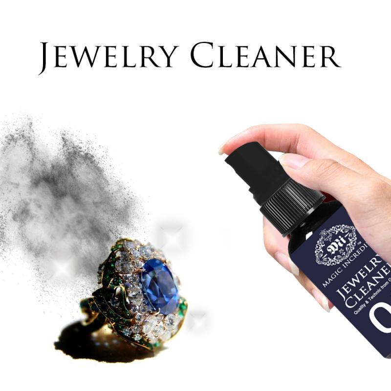 Limpiador de joyas de 30ml limpiador de anillo limpiador fluido multifunción limpiador de piedras preciosas de Metal para limpieza de joyas limpieza del hogar