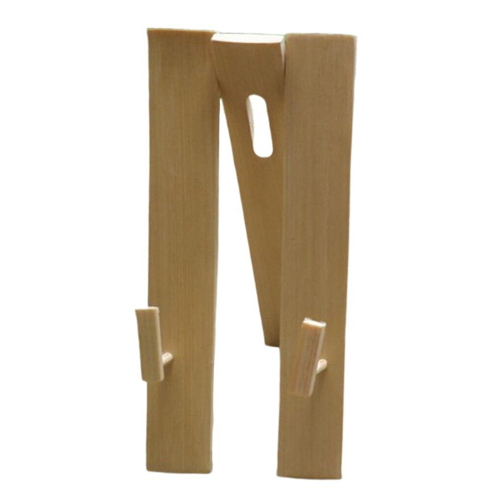 Handfan Display Ständer Holz Robust Stativ Party Japanischen Folding Fan Halter