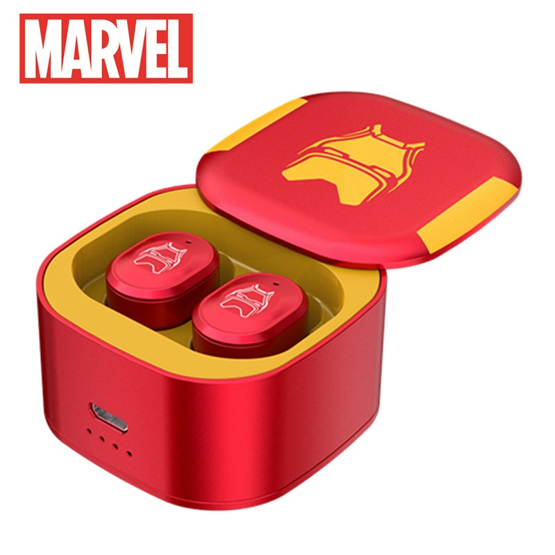 Marvel Original Bluetooth-compatible Running Sports Music Headset Ultra Mini Wireless 5.0 Bluetooth-compatible Headset enlarge
