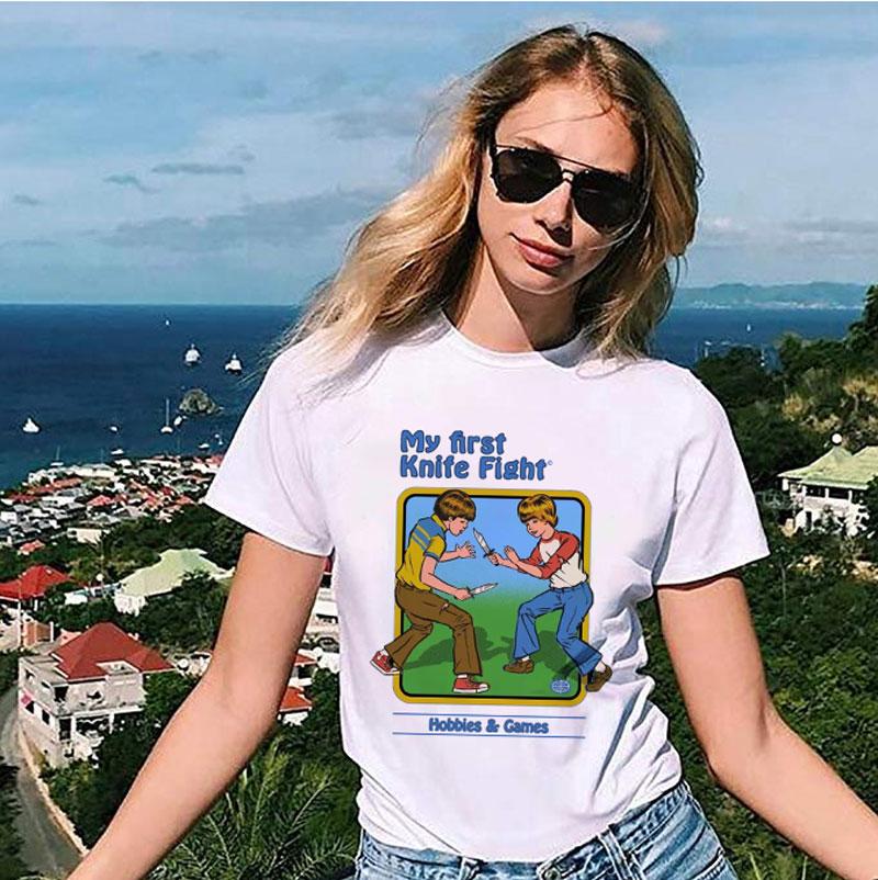 Self Help Guide Graphic Tee Harajuku women Kawaii t shirt Vintage 90s tops Tshirt Female T-shirt Funny grunge Streetwear
