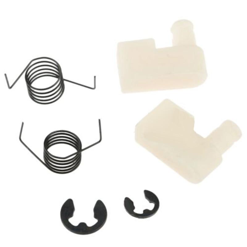 6 шт./набор маховик стартера Pawl пружинный зажим отдача для бензопилы 4500/5200/5800 бензопилы Запчасти Аксессуары