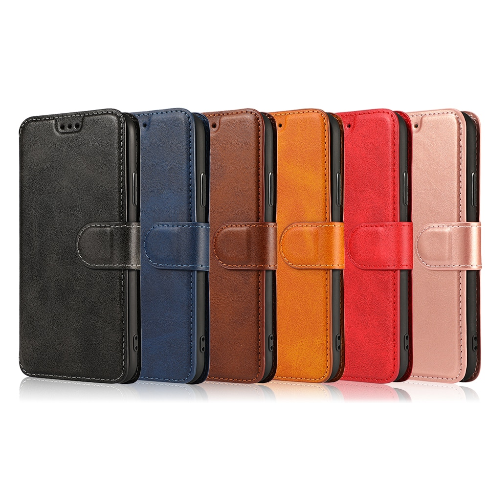 Slim Wallet Case For Samsung Galaxy A50 A10 A70S A40 A30 A20 A6 A8 A9 2018 M30 Flip PU Leather Capa Card Holder Kickstand Cover enlarge