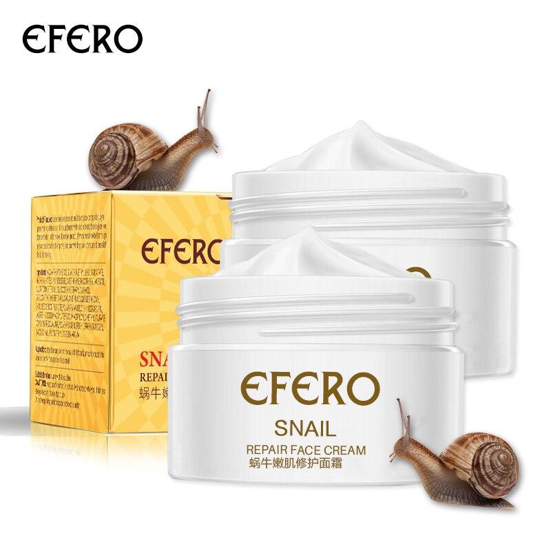 Snail Cream Face Cream with Snail Acne Treatment Moisturizing Anti Wrinkle Anti Aging Whitening Cream Snail Serum for Face EFERO