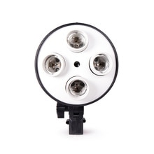 4 en 1 E27 socle douille lampe porte-ampoule adaptateur pour Photo vidéo Studio Softbox
