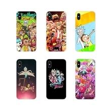 Para Samsung A10 A30 A40 A50 A60 A70 Galaxy Note 2 S2 3 Grande Núcleo Prime Rick E Morty engraçado caras Acessórios Phone Cases Covers