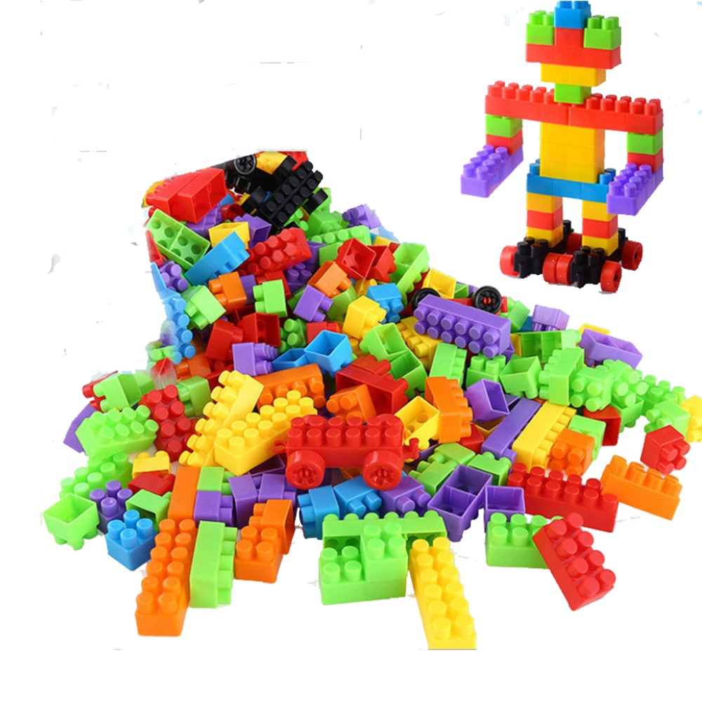 Большие строительные блоки рай самоконтрящаяся Кирпичи совместимы с брендом игрушки для детских игрушек, Детские обучающие игрушки