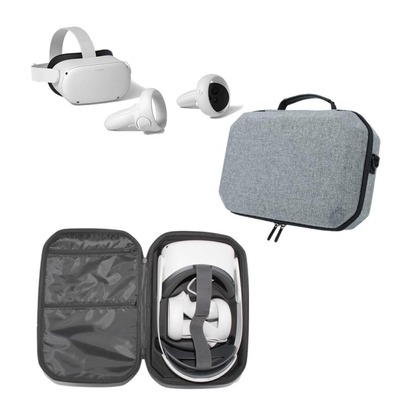 Durable Storage Box Travel Carrying Protective Case Hard EVA Bag Carrying Box Cover Protection Pouch Suitable For Oculus Quest 2 enlarge