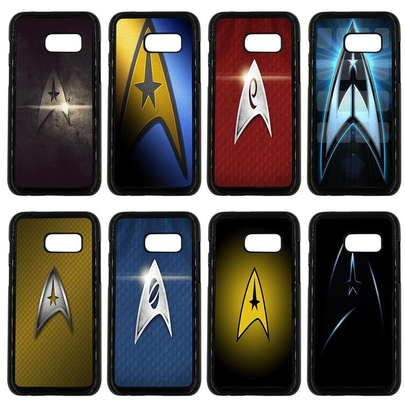Star trek espaço navio caso do telefone móvel capa dura de plástico para samsung galaxy a3 a5 a7 a8 2015 2016 2017 2018 nota 8 7 5 3 escudo