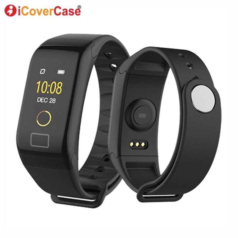Bracelet pour Huawei Y7p Y6s Y9s V30 Pro Y7 montre Bracelet téléphone montre pour Xiao mi Poco X2 Note 10 rouge mi 8A double