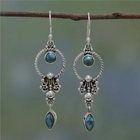 vintage womens 925 sterling silver jewelry pure natural gemstone turquoise