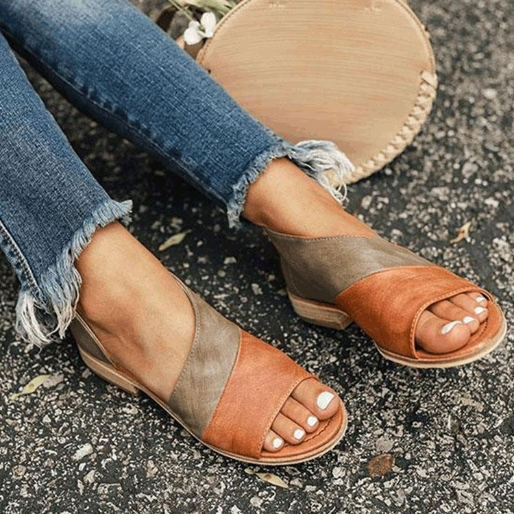 Women's Sandals 2021 Female Shoes Comfy Flats Sole Orthopedic Bunion Corrector Plus Size 35-43 Casua