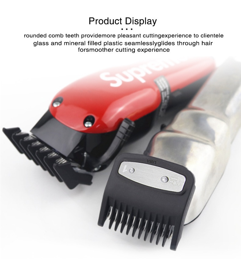 8Pcs Universal Hair Clipper 1.5/3/4.5/6/10/13/19/25mm Limit Combs Electric Clipper Positioning Comb Replacement Tools For WAHL enlarge