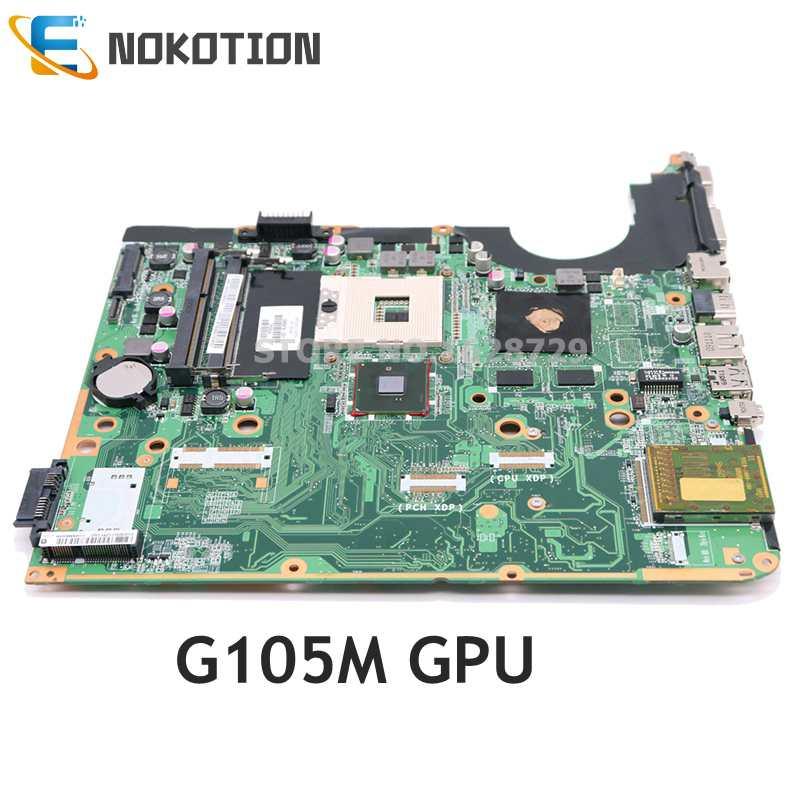 NOKOTION 580976-001 DA0UP6MB6F0 ل HP بافيليون DV6 DV6-2100 اللوحة المحمول PM55 G105M DDR3 اختبار كامل