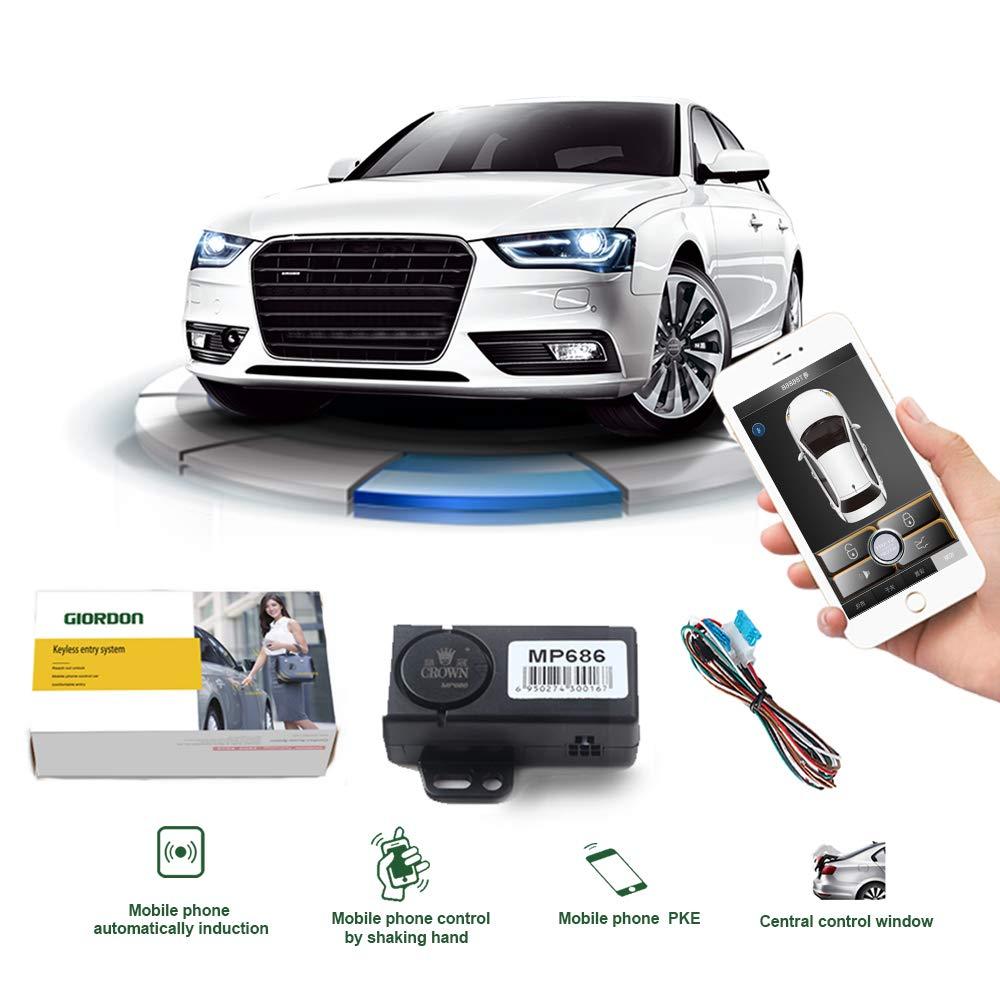 Sistema de alarma para coche PKE, 12V, entrada sin llave para camión,...