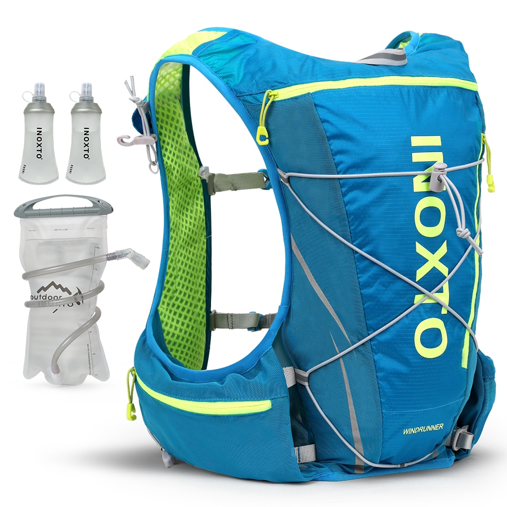 hydrating running hydrating vest backpack 8L, cycling hydrating backpack hiking marathon hydrating, with 1.5L water bag 500ml water bottle