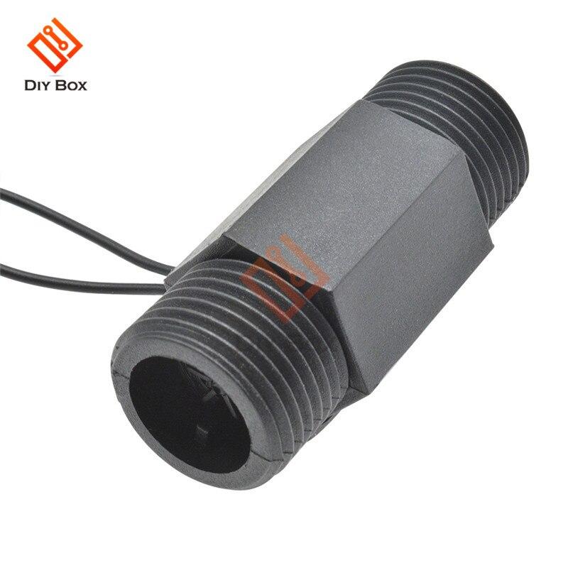 Interruptor de flujo de agua de plástico magnético AC 220V 3A 22mm vertical horizontal interruptor de flujo de agua magnético