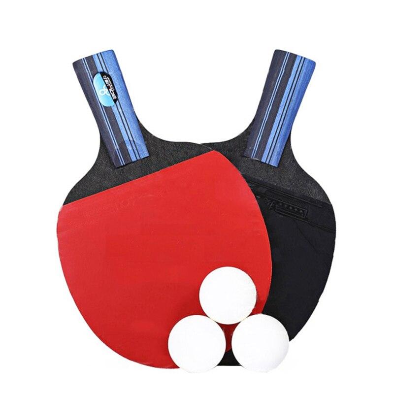 Ракетка для настольного тенниса 2 шт/лот ракетка ракетки с двойным