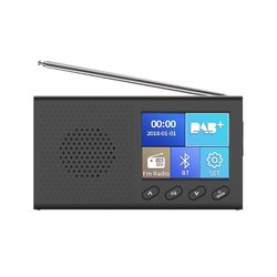 Tragbare DAB Empfänger FM Radio Bluetooth 4,2 Musik-Player 3,5mm Stereo Ausgang LX9B