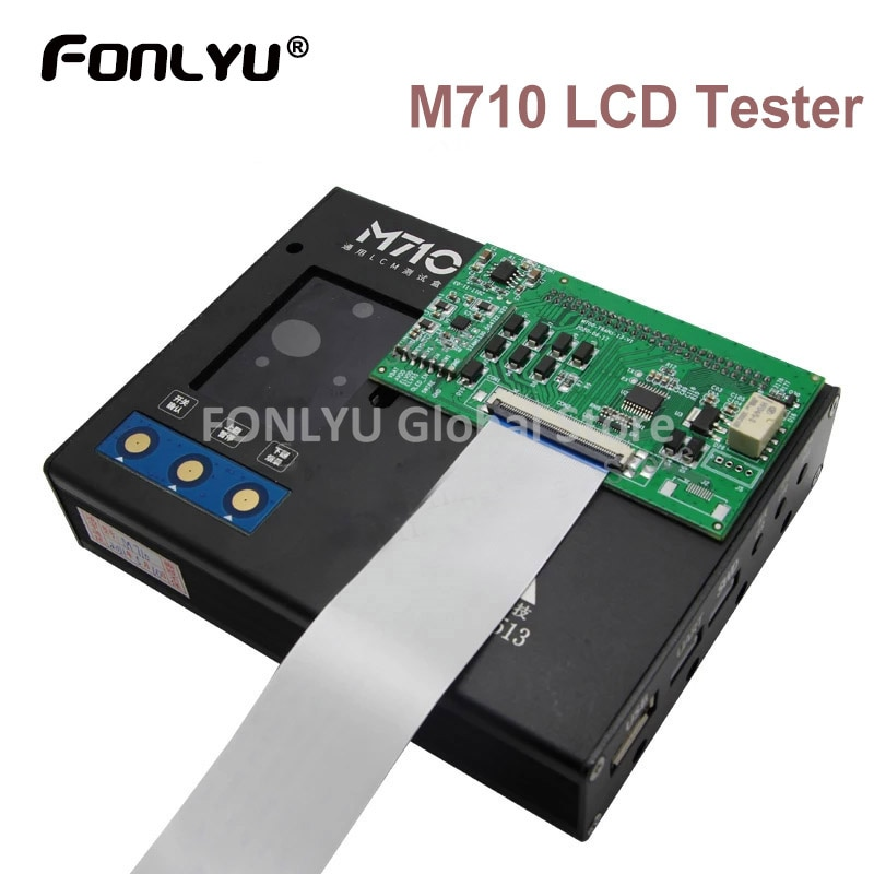 M710 LCD Touch Tester For Samsung Xiaomi Huawei LG Sony etc Android TFT AMOLED MIPICOMMAND Display Screen Testing Tools
