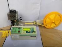 120 c computer automatic cloth belt oblique hot cutting machine tape zipper nylon webbing elastic belt cutting