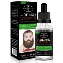 Aichun Men Beard Growth Enhancer Gentle Maintenance Hair Growth Beard Essential Oil Avoid Beard Hair