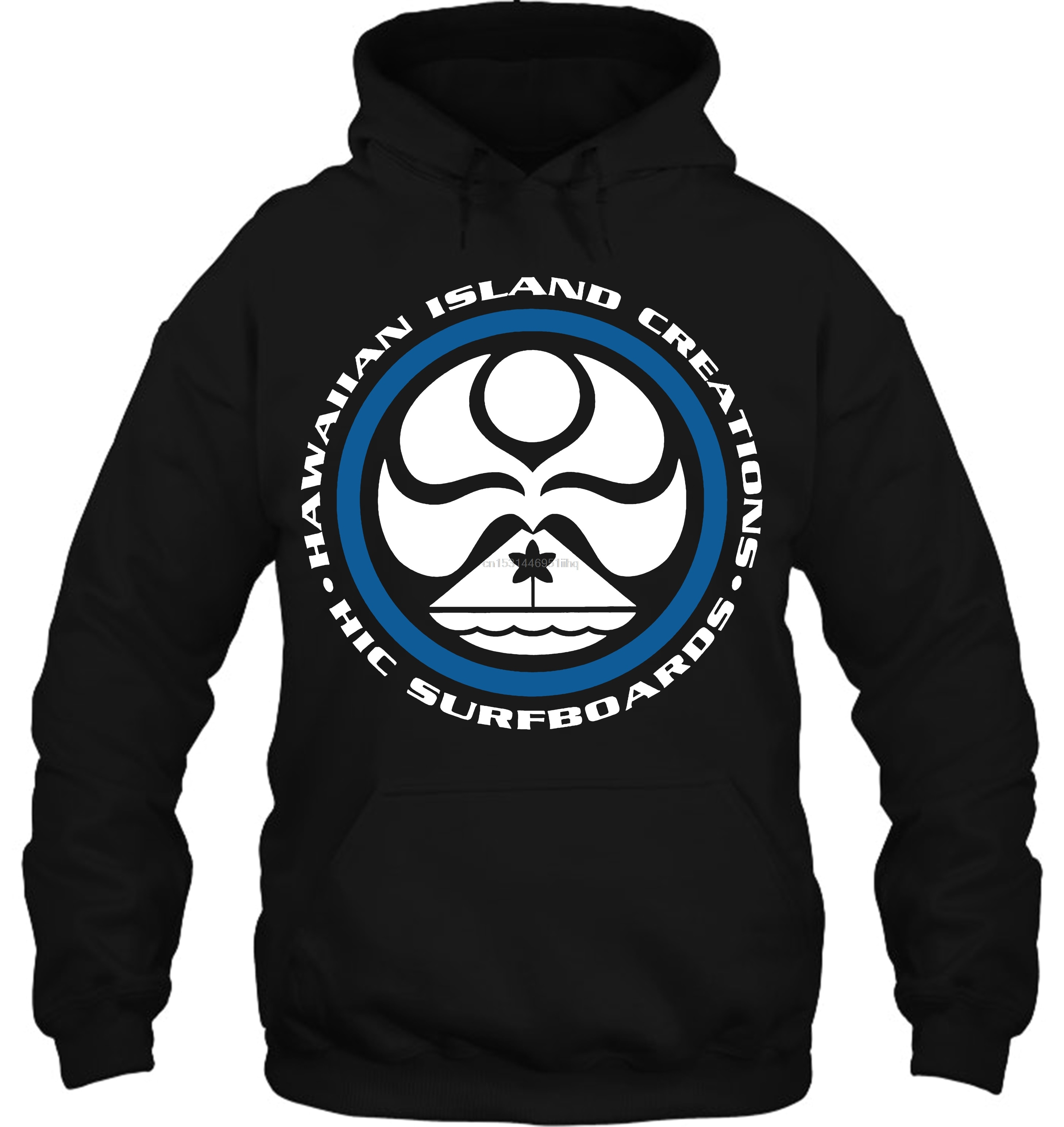 Hoodie masculino novo hic ilha havaiana criações logotipo t sz s 2xl feminino streetwear