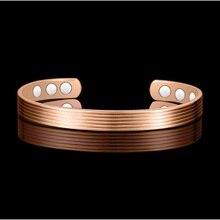 Schmuck Gesundheit Pflege Anti Arthritis Rheuma Schmerzen Relief Bio Magnetische Kupfer Armbänder Armreifen Für Frauen