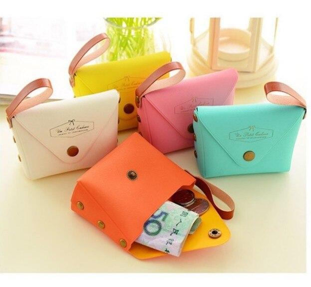 Coin purse female small wallet mini cute key bag candy color small bag creative hand coin coin pocket