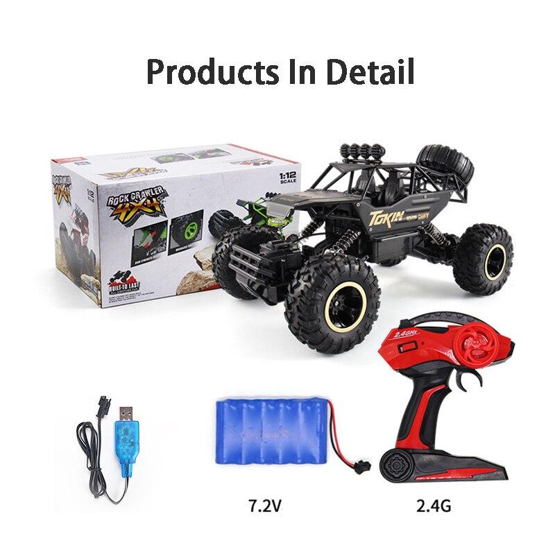 Remote Control Car 4WD 2.4GHz 1:20 Climb Remote Control Car Cross Country Radio Control Truck Children Remote Control Car Toy