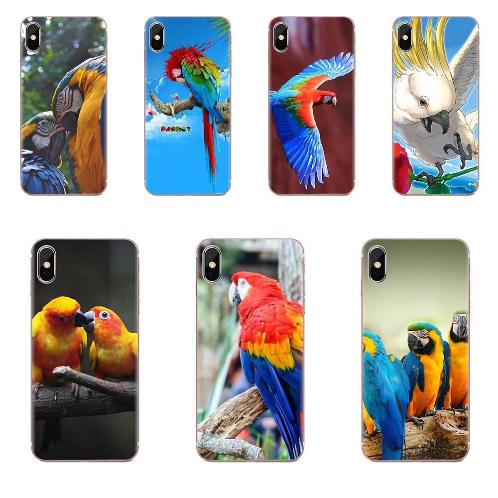 Чехол из ТПУ с аниме птицами и попугаями для Huawei Honor V30 20 Pro Mate 30 Pro Lite 20s NOVA 6 SE 5 P40 p30 lite Pro