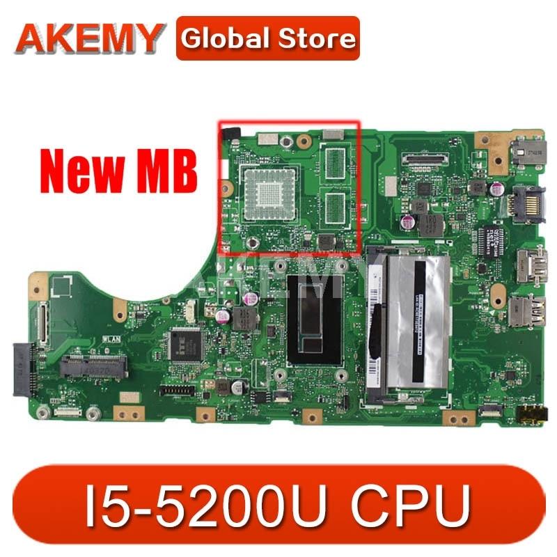 Akemy TP550LAB MB._ 4G/I5-5200U REV 2.0 اللوحة الرئيسية لشركة آسوس TP550LAB TP550LA TP550LD TP550LJ اللوحة الأم للكمبيوتر المحمول 60nb0590 mb2200