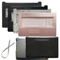 new laptop shell for hp pavilion 17 by 17 ca 17t by 17z ca palmrest upper casebottom case cover l22508 001